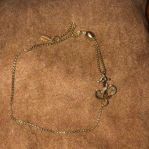 Alex and Ani adjustable anchor bracelet